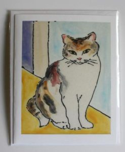 Calico Cat, Single Card front
