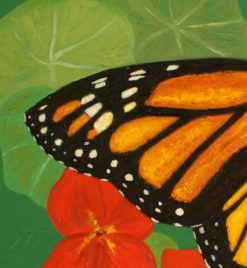 Monarch,detail 1 by Susan Sternau