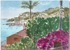 Old Town Sausalito View by Susan Sternau