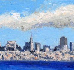 San Francisco Panorama, detail 1 by Susan Sternau