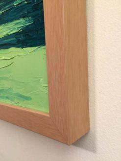 Duck Lake Oil Painting framed, detail 1 by Susan Sternau
