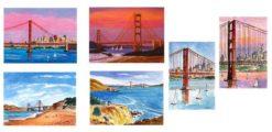 Golden Gate Bridge Card Box by Susan Sternau